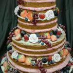 Bruidstaart met fruit - Bakkerij Bosgoed