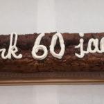 Meter krentenbrood met tekst - Bakkerij Bosgoed