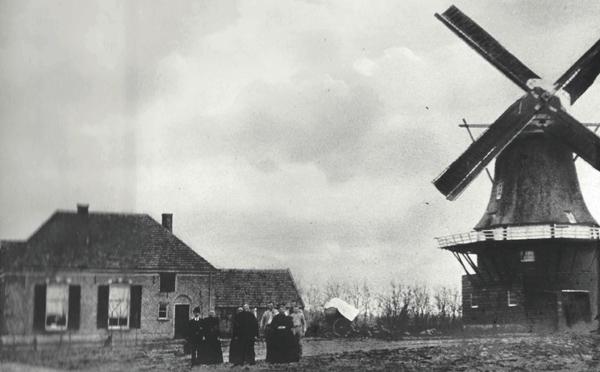 De molen van familie Bosgoed in Heeten