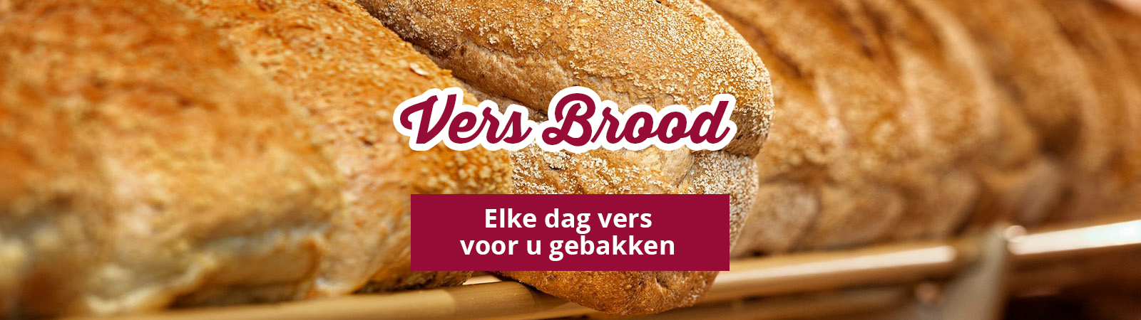 Bakkerij Bosgoed elke dag vers brood